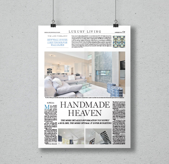Handmade Heaven | National Post Luxury Living